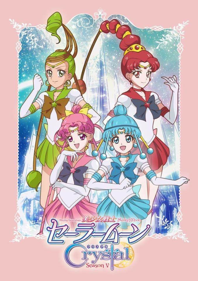 sailor moon crystal staffel 4