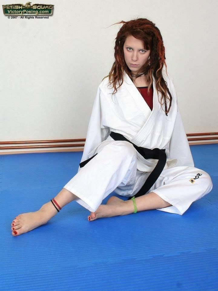 Judo girl sexy