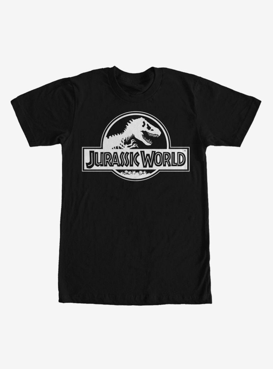 Jurassic World Simple T Rex Logo T Shirt In 2020 Tshirt Logo Jurassic Park T Shirt Black Long Sleeve Sweatshirt