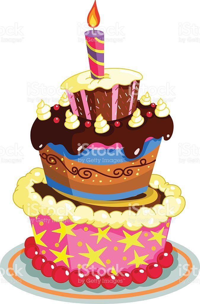 Birthday Cake Birthday Cake Clip Art Birthday Cake Illustration Art Birthday Cake