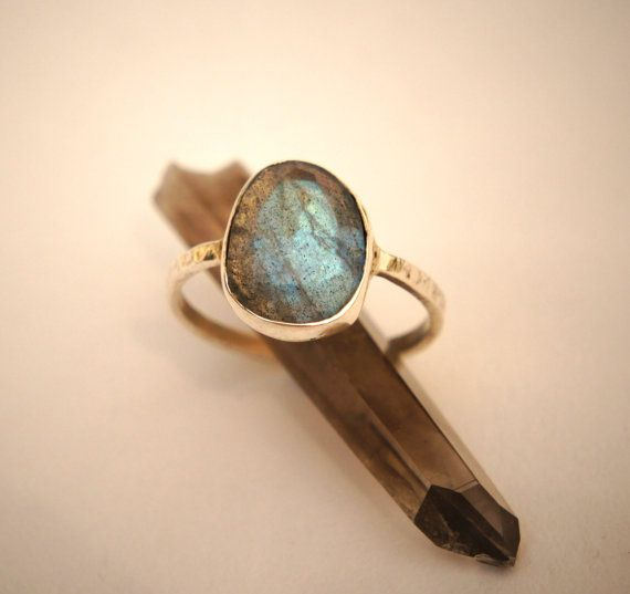 Faceted Blue Labradorite and Sterling Silver by SkydancerJewellery, £34.00