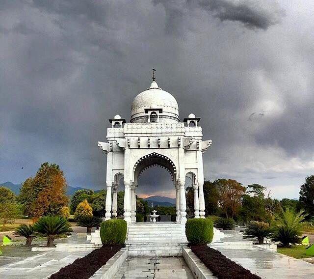 """Fatima Jinnah Park Islamabad: """"Baradari"""" Monument At Fatima Jinnah Park, Islamabad"""