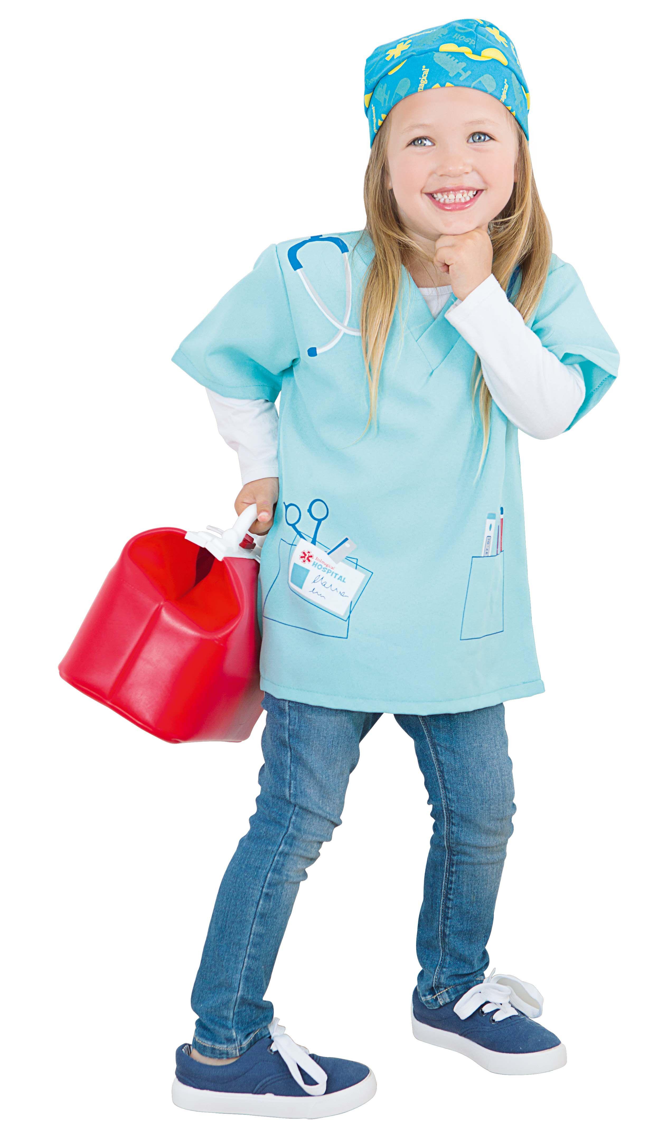 5f4835141 Increíble disfraz de cirujano para niños y niñas. También tenemos el  maletín para que puedas curar cualquier enfermedad :) ¡Descúbrelo!