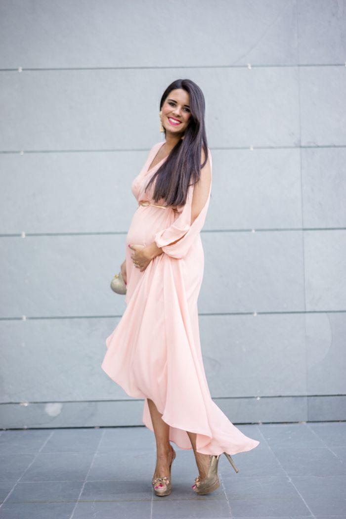 größter Rabatt neueste art niedrigerer Preis mit ▷ 1001 + Ideen für festliche Kleider für Schwangere ...