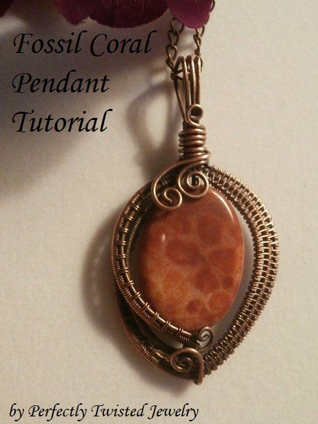 Wire TUTORIAL, 3 files! Wire Wrapped Jewelry Pendant, Beginner to ...