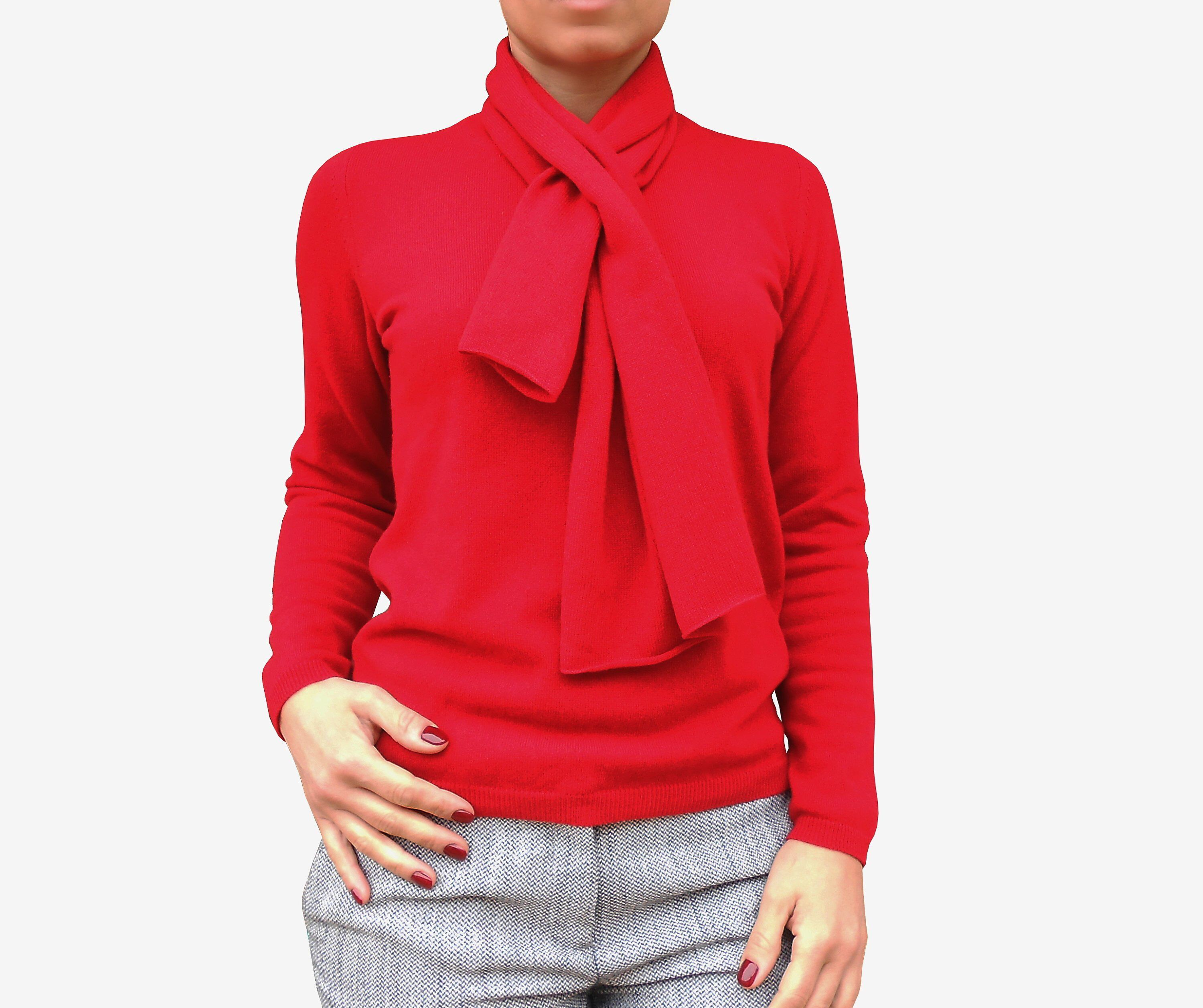 timeless design 74648 127b3 100%cashmere sweater and scarf, women pullover, christmas ...