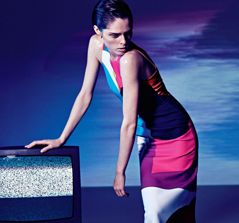"""""""Fierce Creature""""   Model: Coco Rocha, Photographer: Darren Mcdonald, Sunday Style Australia, November 2014"""