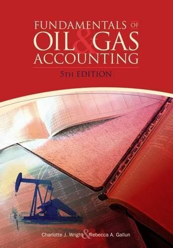 Fundamentals Of Oil Gas Accounting An Excellent Training Manual And Professional Reference Fundamentals Of Oil Gas Ac Oil And Gas Accounting Books Oils