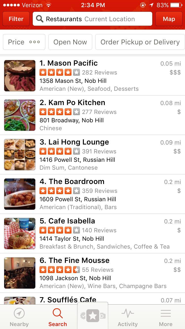 Restaurant reviews yelp - Yelp Restaurant Reviews