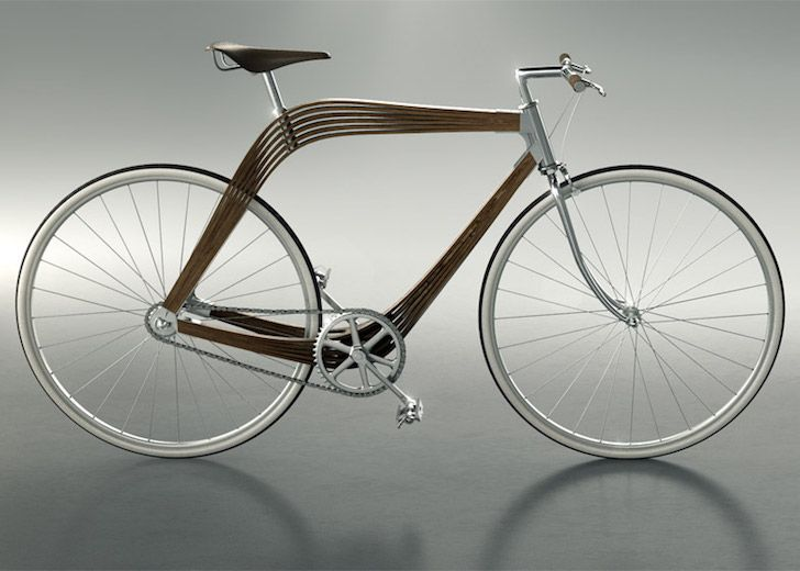 bicycle, bike design, wooden bicycle, AERO bikes, Milan Design Week 2015, bike frames, bicycle design, eco design