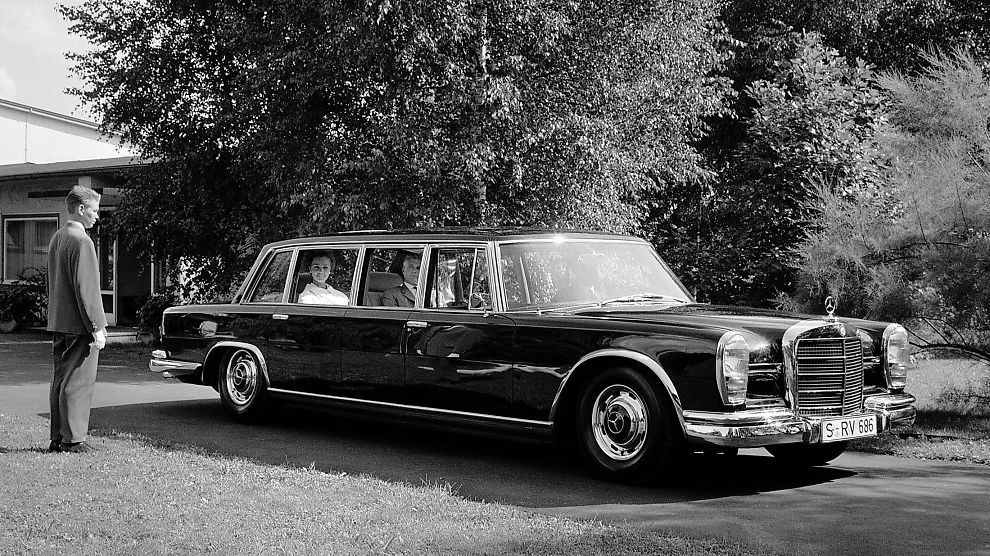 Mercedes-Benz 600 Pullmann - the choice of dictators.