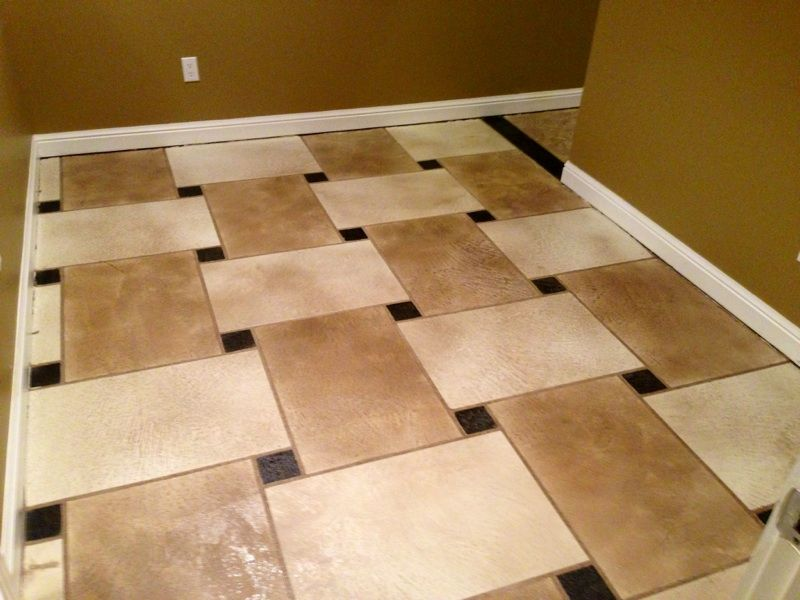 Custom interior flooring using elite crete systems - Interior concrete floor resurfacing ...
