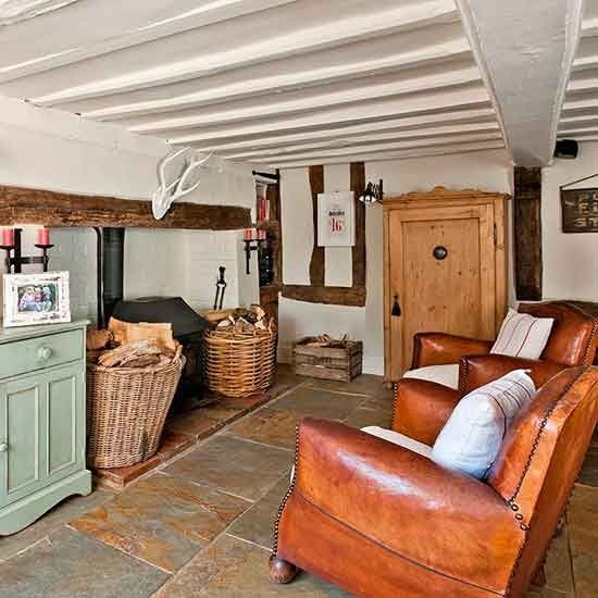 Kitchen Seating Area | Suffolk Country House | House Tour | PHOTO GALLERY |  Country Homes