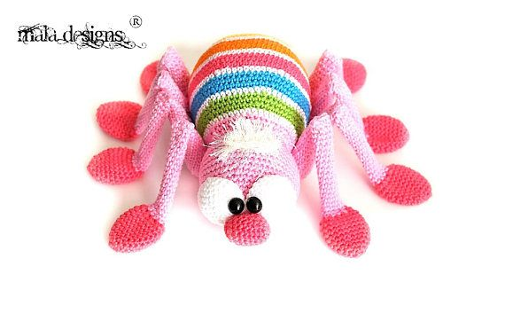 spiders crochet pattern by mala designs