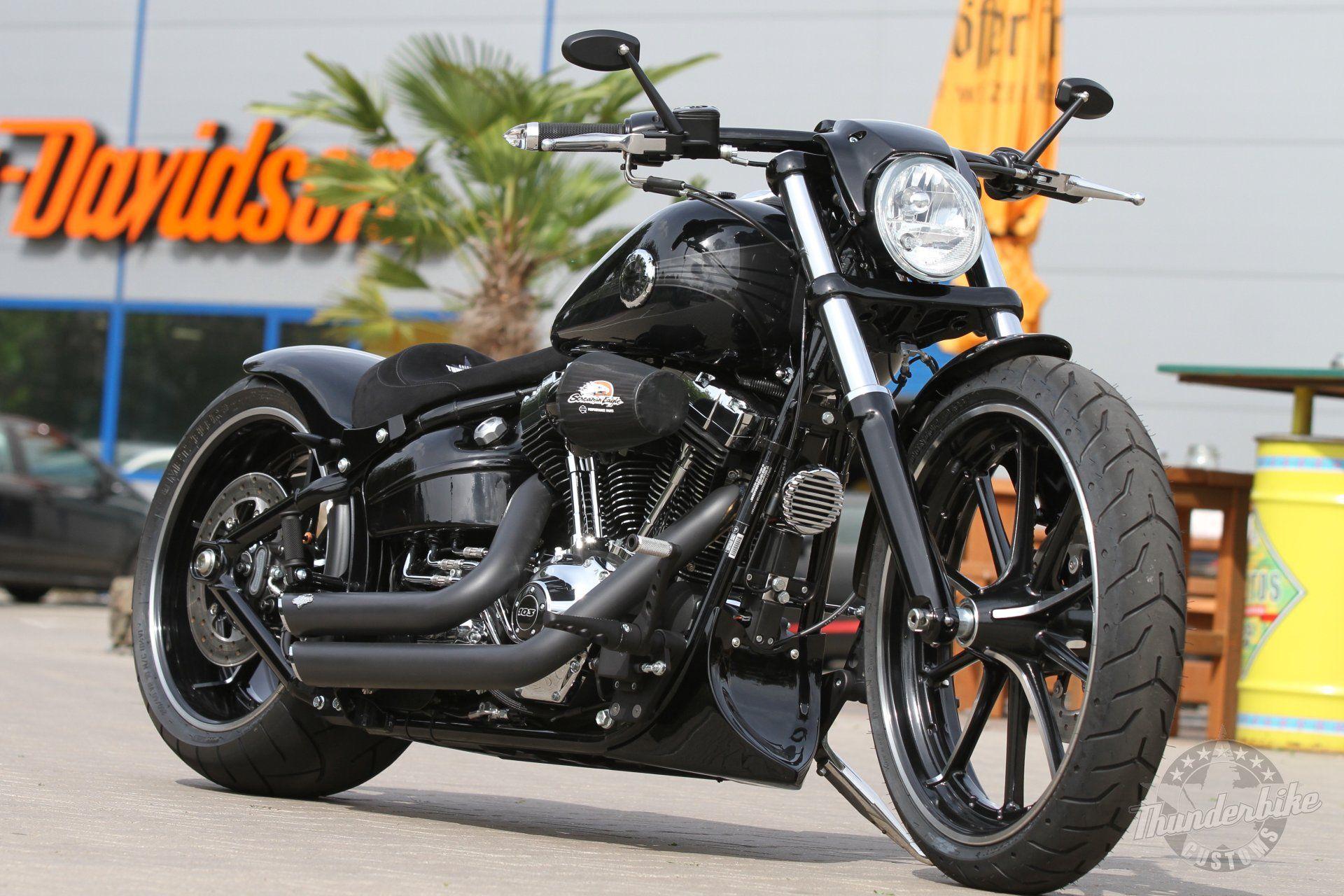 harley-davidson softail breakout thunderbike (8) | mėgstu