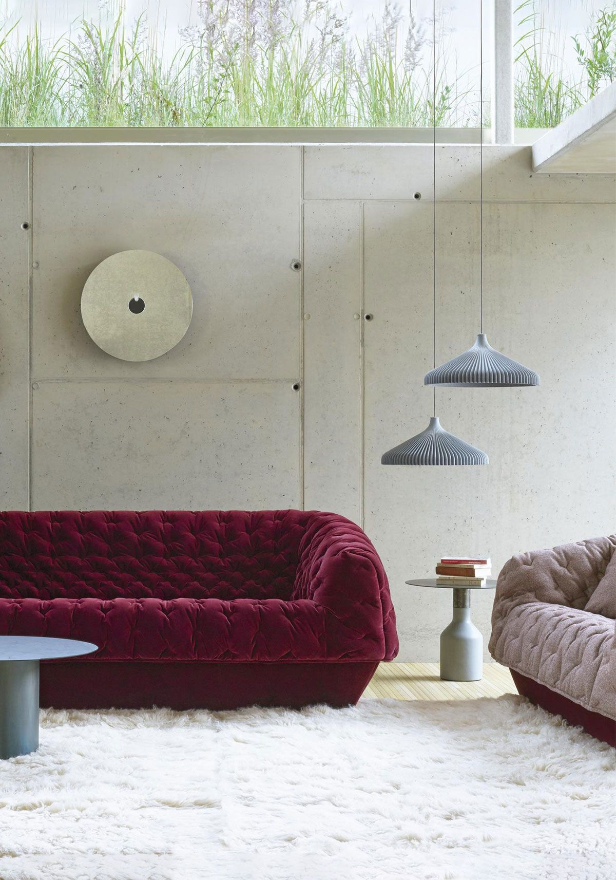 Cover 1 sofa collection designed by marie christine dorner for ligne roset available at linea inc modern furniture los angeles
