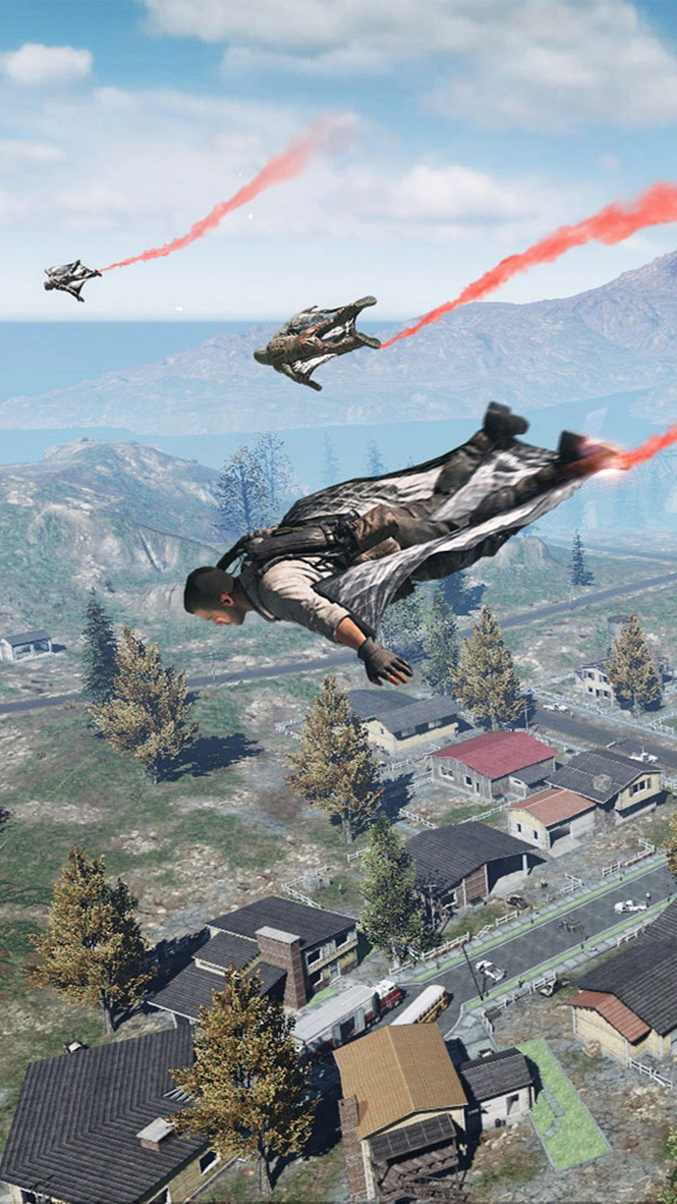 Jump From The Plane Call Of Duty Mobile 4k Ultra Hd Mobile Wallpaper Fondos Militares Militar Fondos