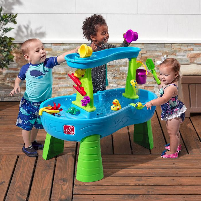 Rain Showers Splash Pond Sand And Water Table Sand Water Table