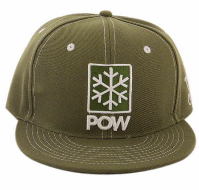 Grassroots California   Protect Our Winters Collaboration  POW Snapback Hat 62ef59aff34