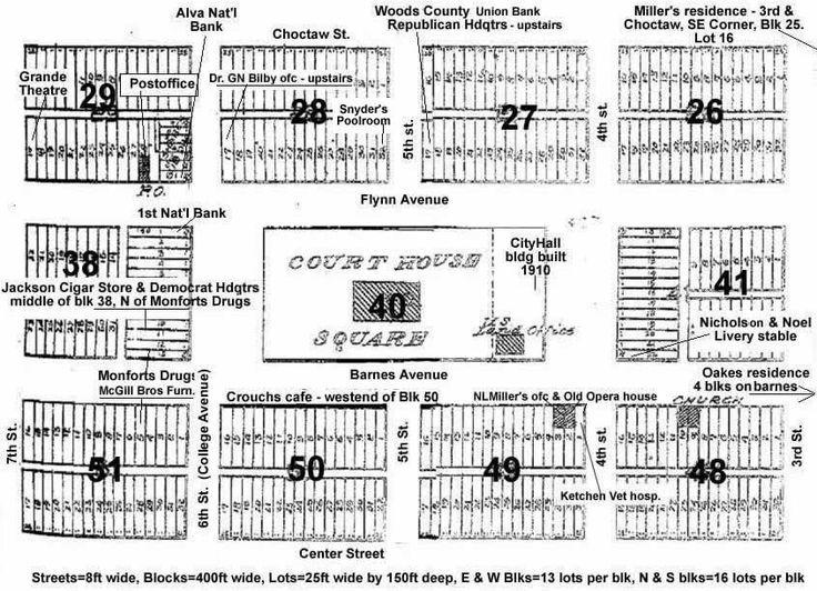 vintage image downtown map of alva, oklahoma | | Alva ... on sf va map, sw va map, co va map, ky va map, dc va map, no va map,