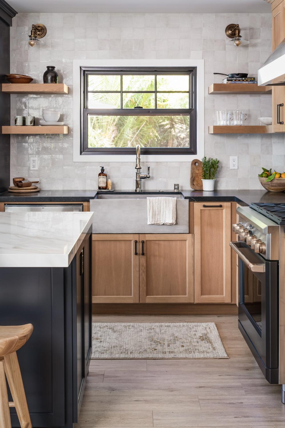 Adobe Falls Kitchen Remodel Transitional San Diego By M Prevost Design In 2020 Kitchen Beach House Interior House Interior