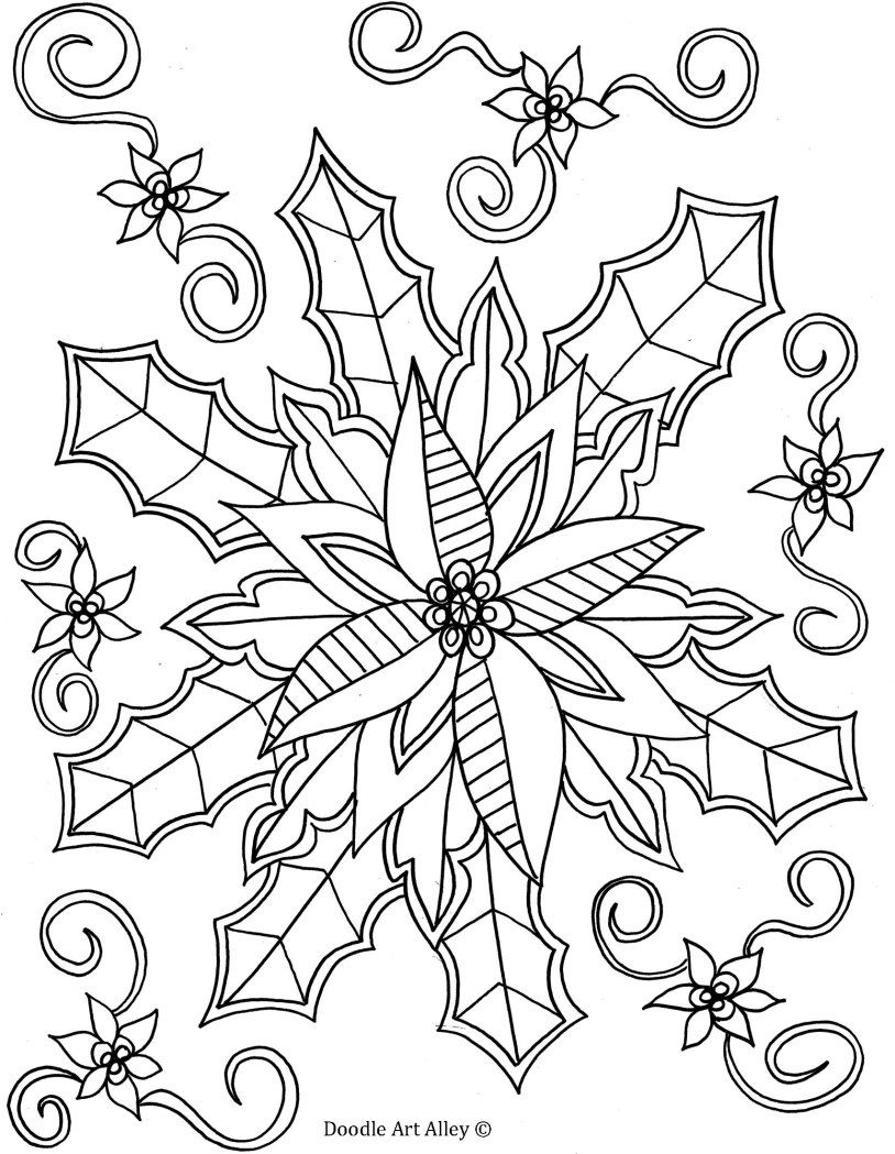 """iColor """"Christmas Classics"""" Christmas coloring pages"""