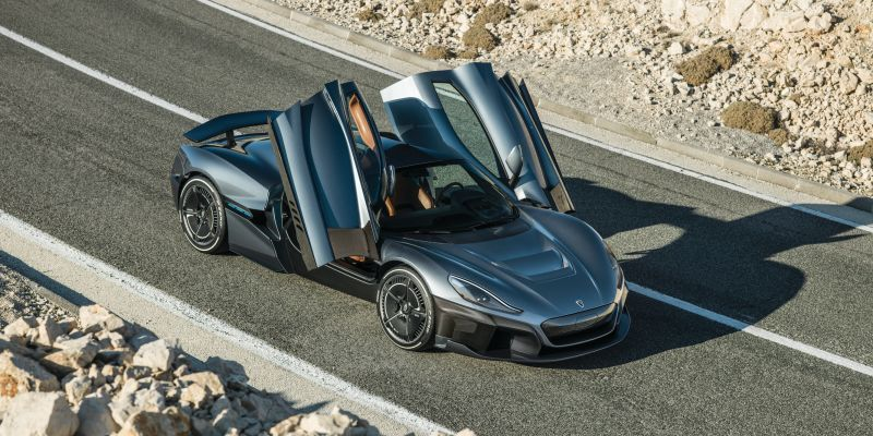 The Rimac C Two Is A Semi Autonomous Electric Monster With 1 914 Hp And Facial Recognition Super Cars Car Small Luxury Cars