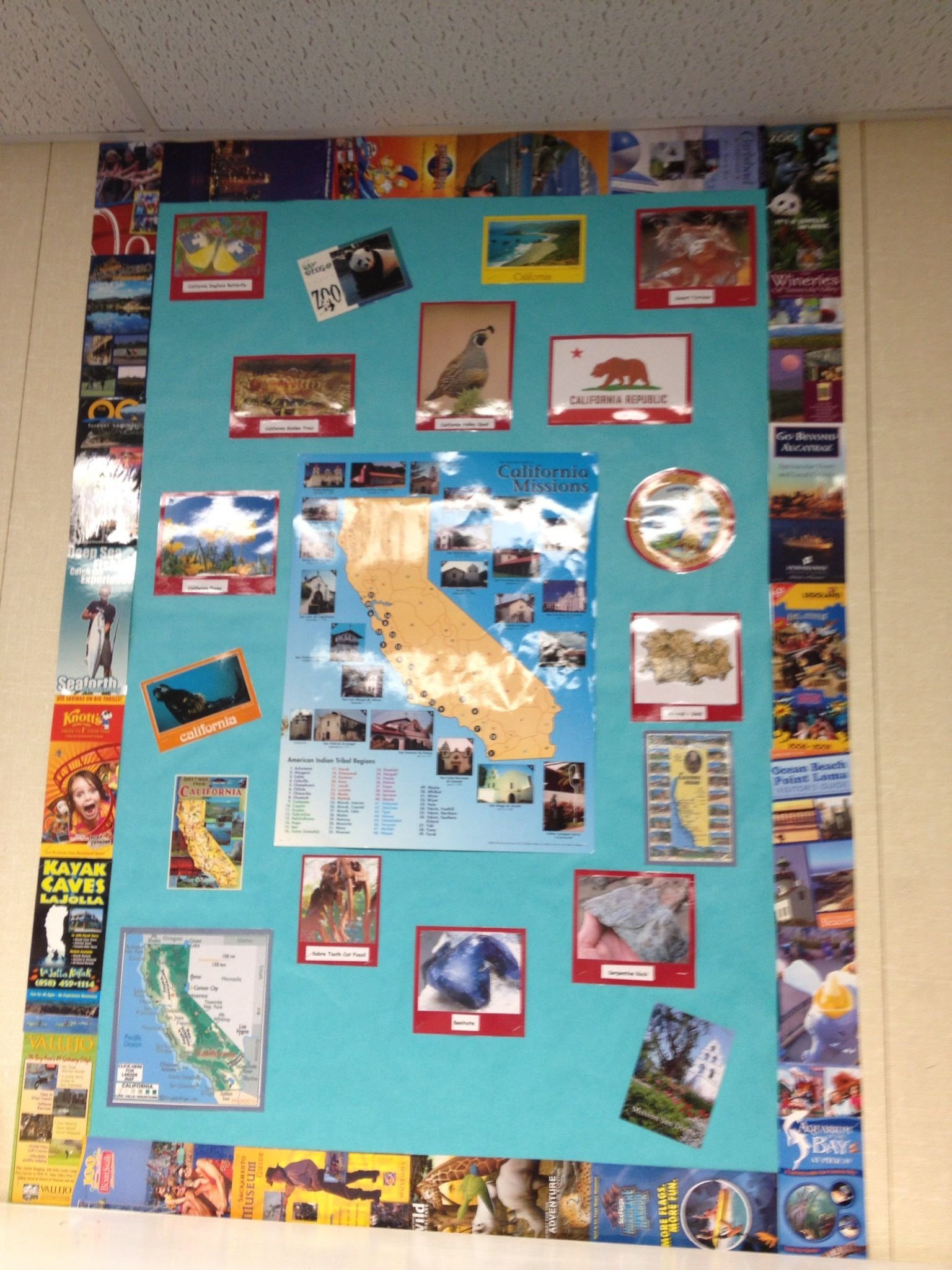 California Board The Border Is Made Of Tourist Attraction