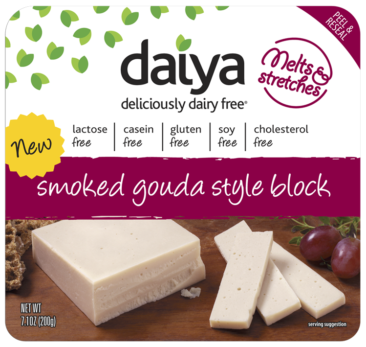This Spring There S A New Kid On The Block Introducing Smoked Gouda Dairy Free Food No Dairy Recipes