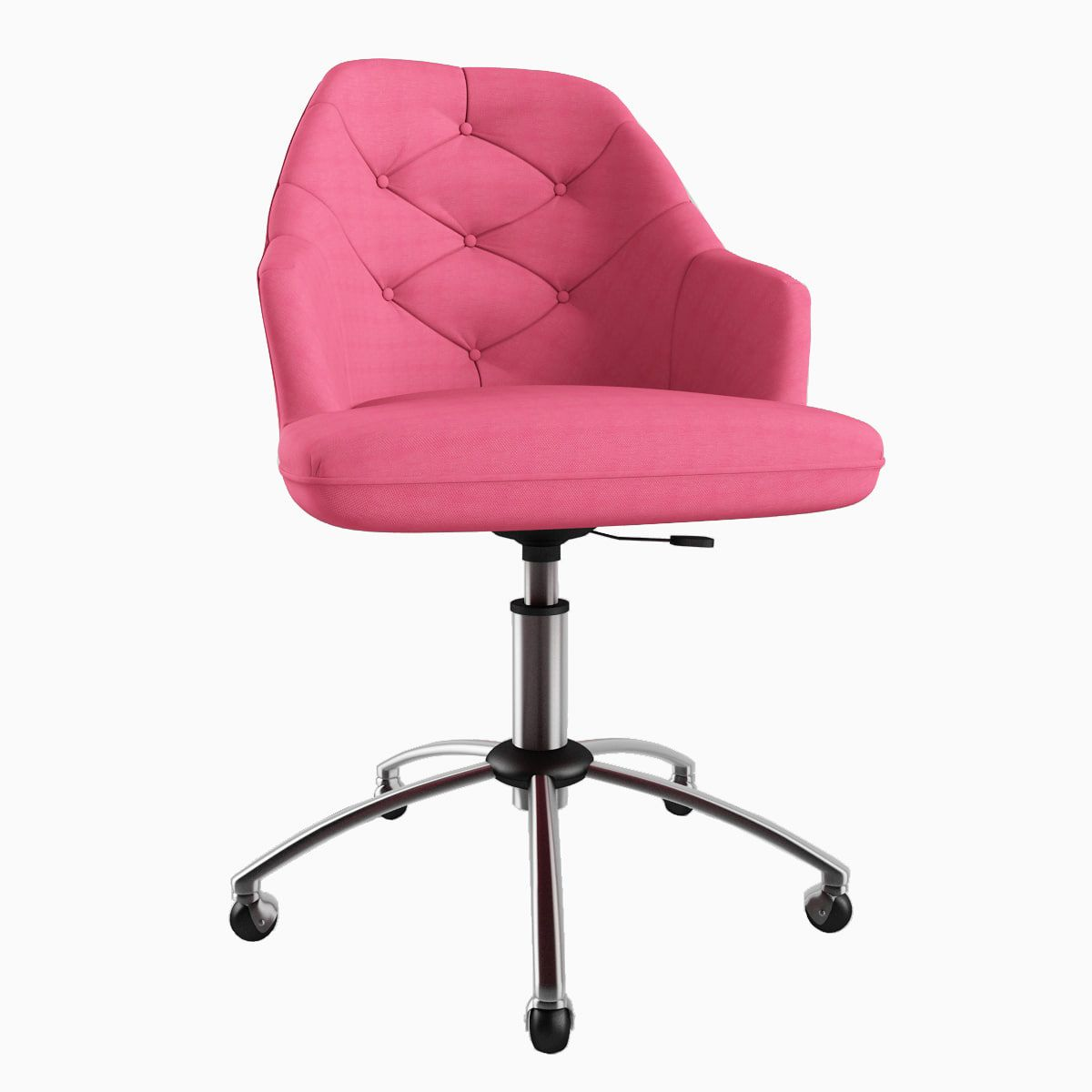3D 3ds Tufted Desk Chair Крісло