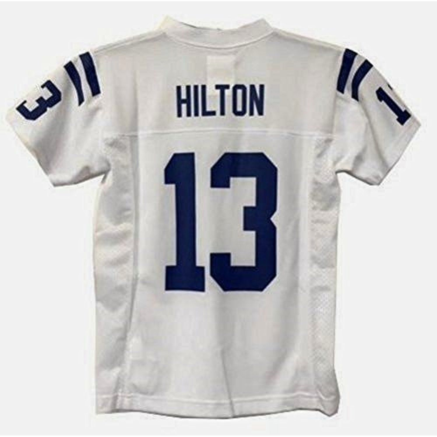 official photos 20d7e c79cc T.Y. Hilton Indianapolis Colts NFL Youth White Road Replica ...