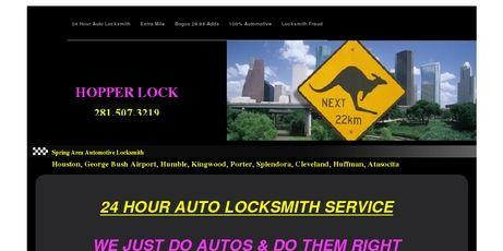 Hopper Lock Locksmith 281-507-3219