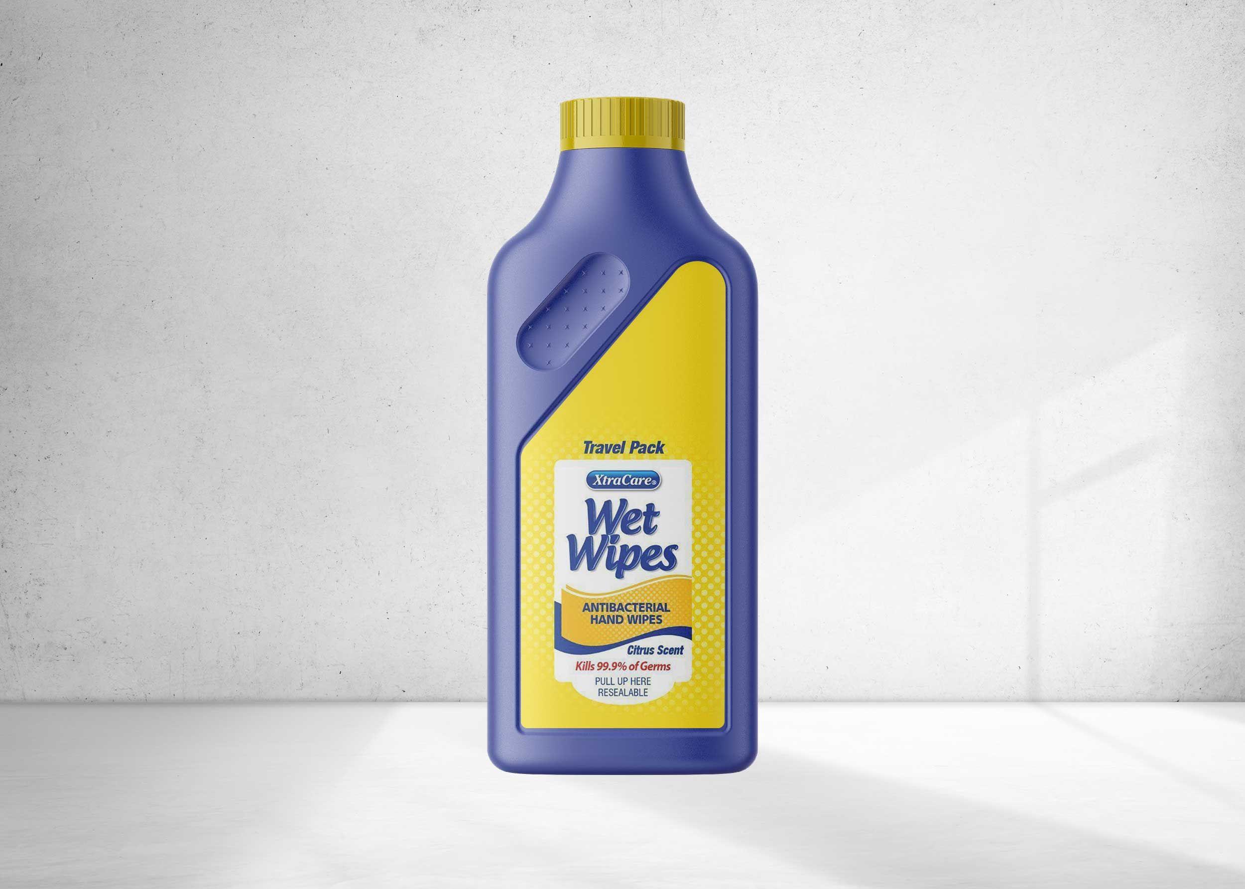 Free Laundry Detergent Bottle Mockup In 2020 Bottle Mockup Logo