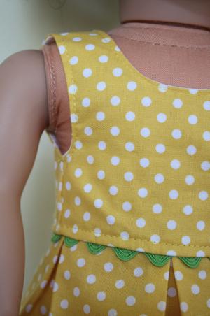 AG doll dress tut w/ printable pattern :)