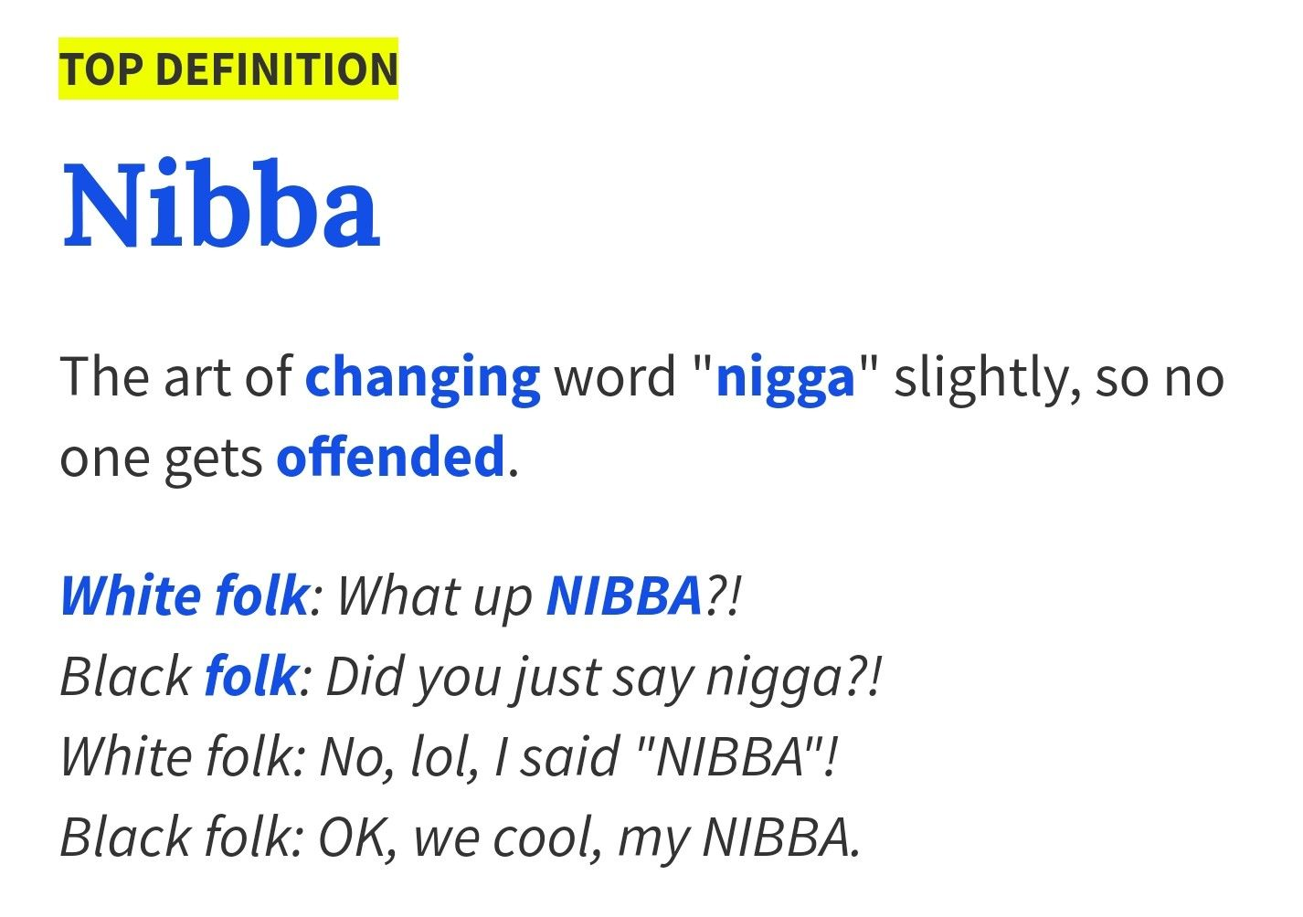 Wassup My Nibba Urban Dictionary Funny Urban Dictionary Word Definitions
