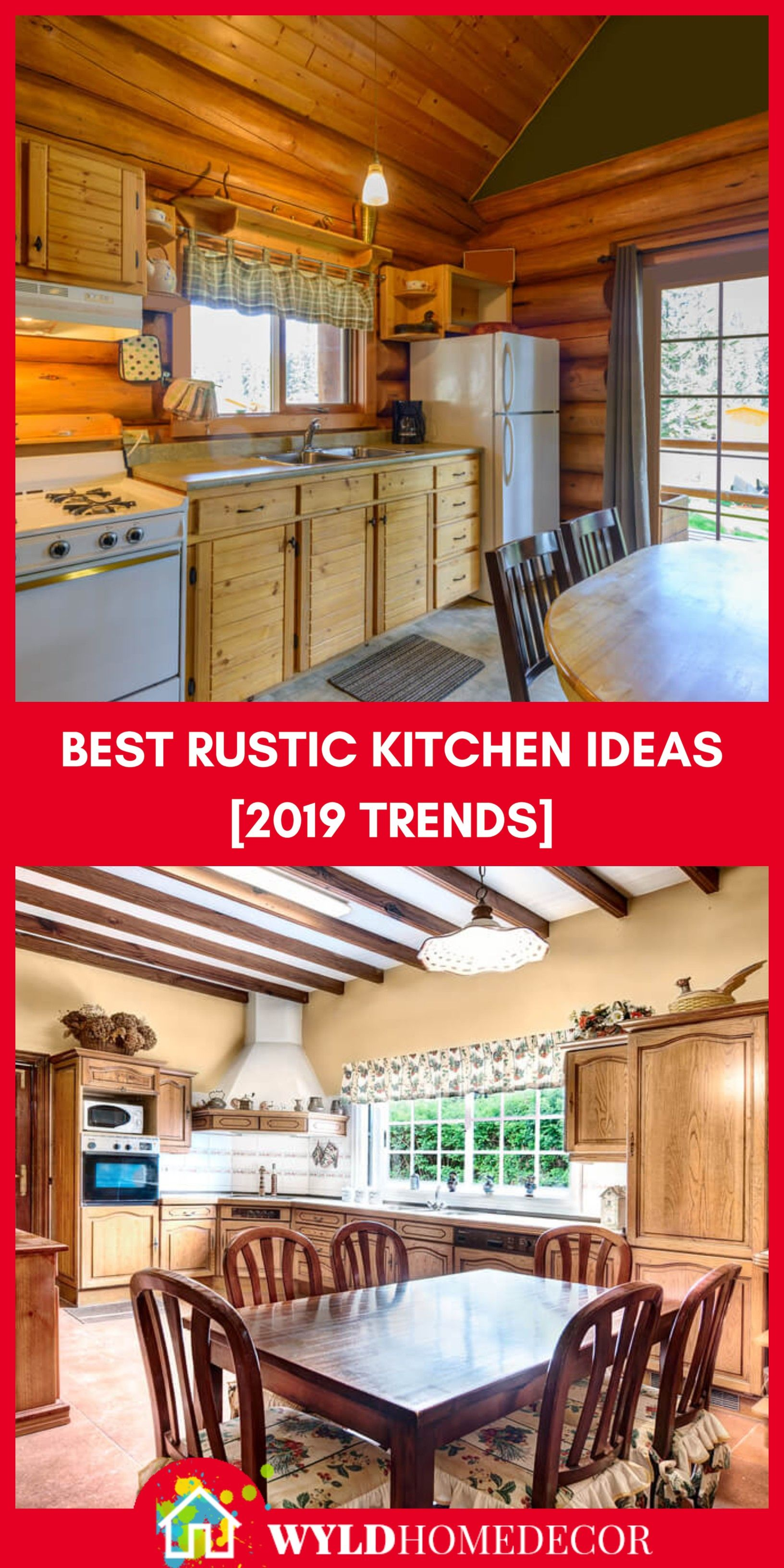 Best Rustic Kitchen 2019 Trends Head On Over To The The Blog For
