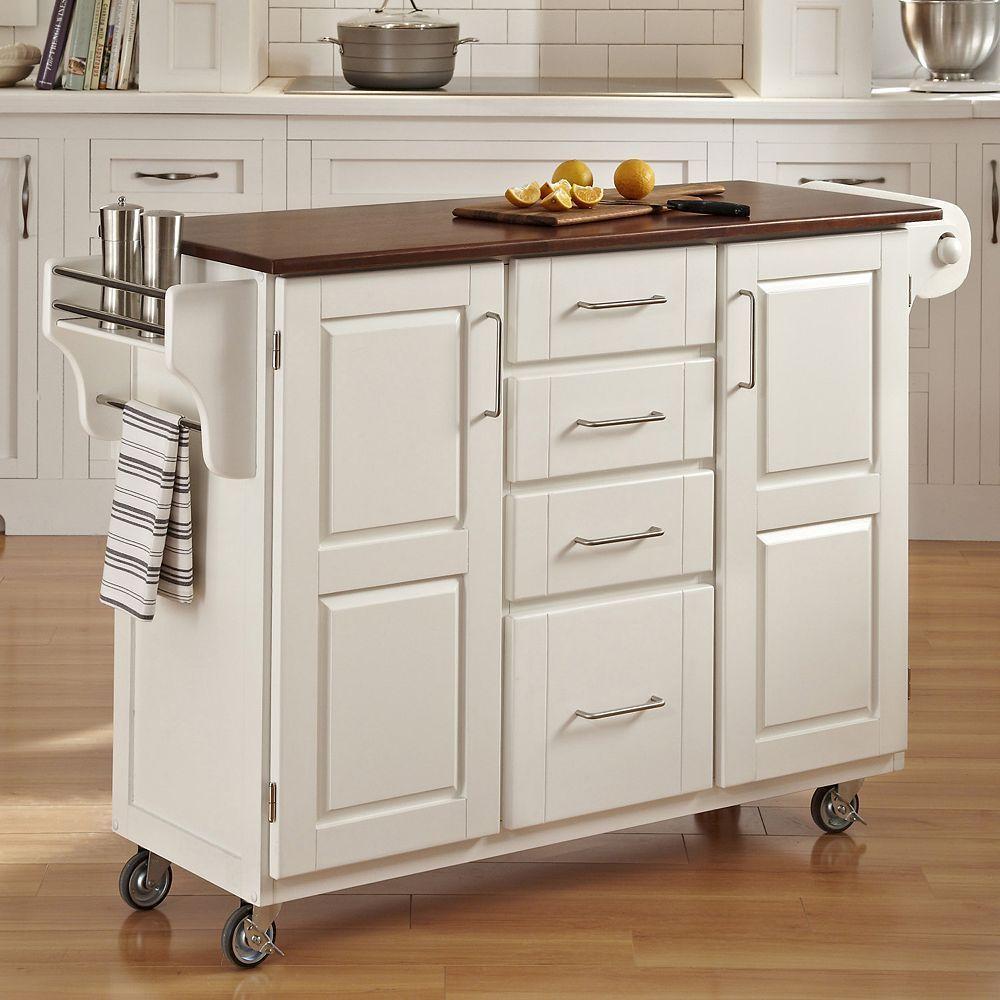 Oak Top Four Drawer Kitchen Cart Kitchen Cart Kitchen Island Oak Kitchen Design