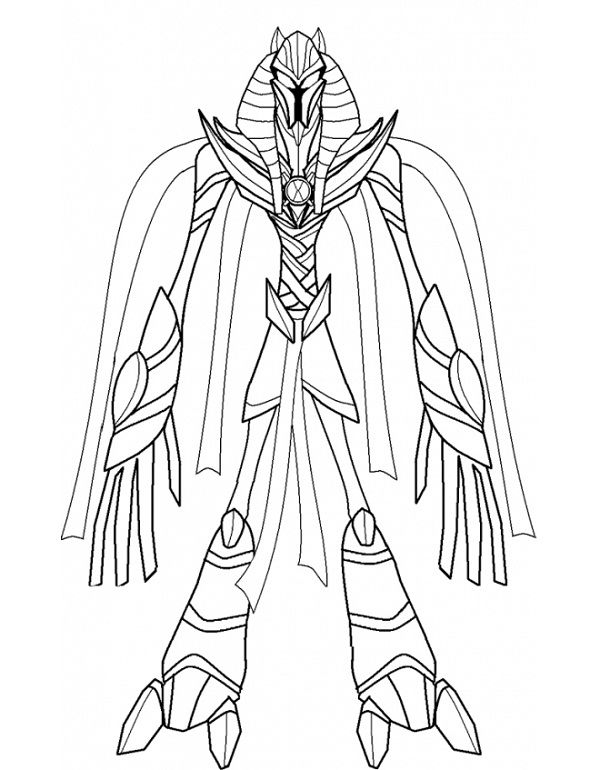 Ben 10 Benmummy Coloring Pages Coloring Kids Color Colouring