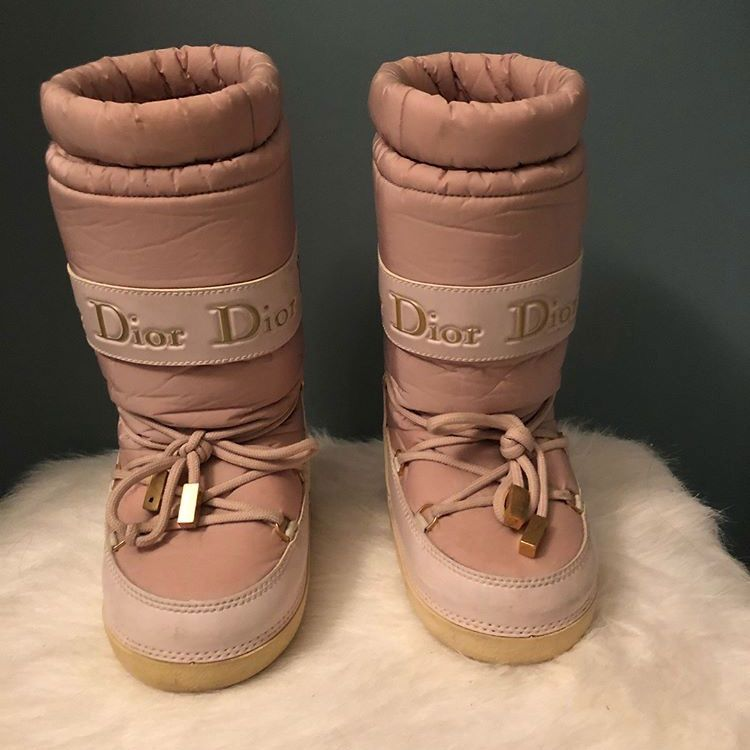 Dior Kids Moon Boots Dior Kids Moon Boots Little Girl Boots