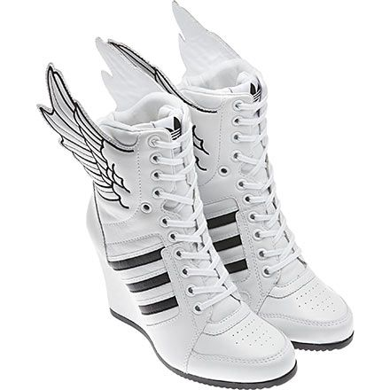 Jeremy Scott Wings Wedge Hi Shoes I Wanna Be A Girl Just For These Adidas Shoes Originals New Adidas Shoes Shoes