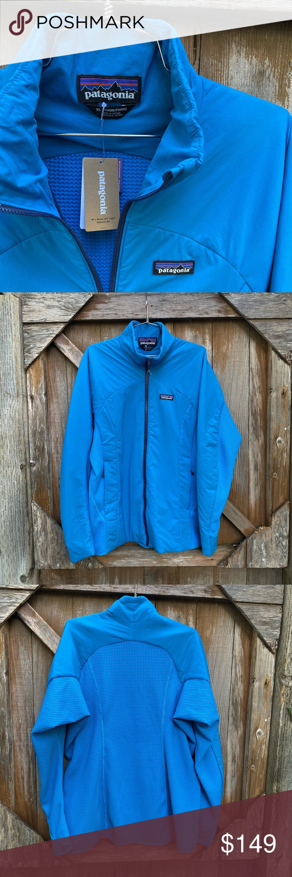 NWT Patagonia NanoAir Light Hybrid Women's Jacket NWT