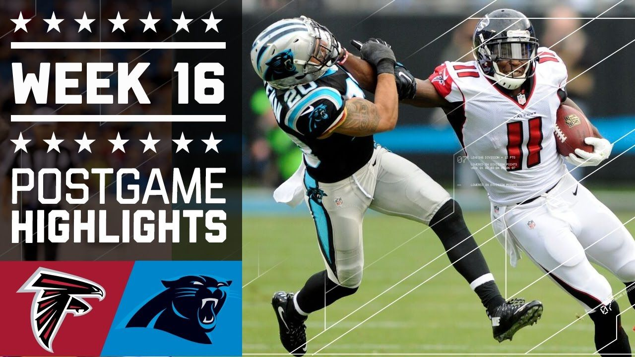 Falcons vs. Panthers NFL Week 16 Game Highlights Nfl