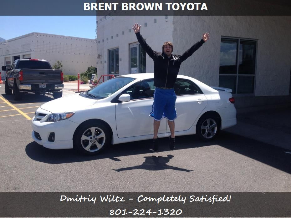 Dmitriy Wiltz Reviews The 2013 Toyota Corolla S He Purchased From Brent  Brown Toyota In Orem