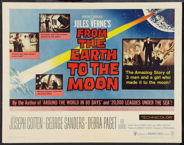 Around the world in 80 days cult movie poster print