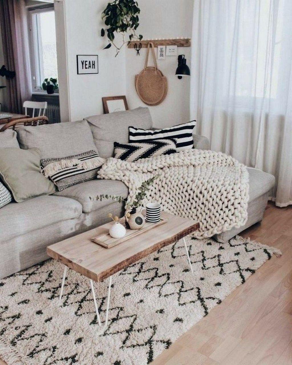 34 Stunning Apartment Furniture Ideas You Must Have Pimphomee Minimalist Living Room Decor Living Room Scandinavian Living Room Designs