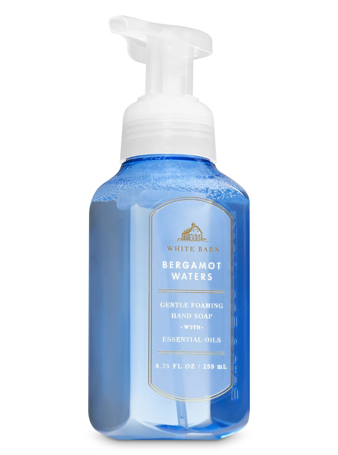 White Barn Bergamot Waters Gentle Foaming Hand Soap By Bath
