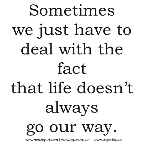 sometimes in life quotes