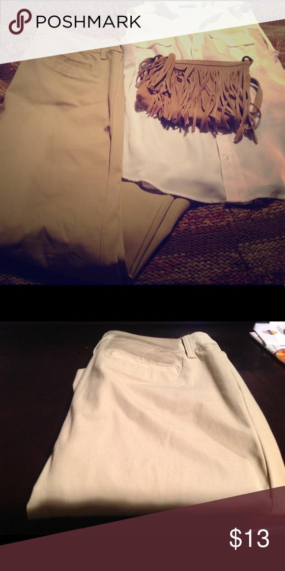 NWOT Khakis Khakis St. John's Bay Pants Straight Leg