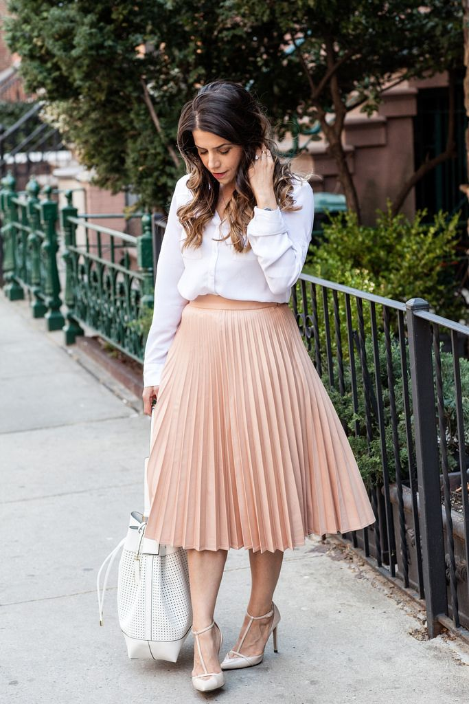 Pink pleated skirt | Pink skirts | Pinterest | Pink, Skirts and ...