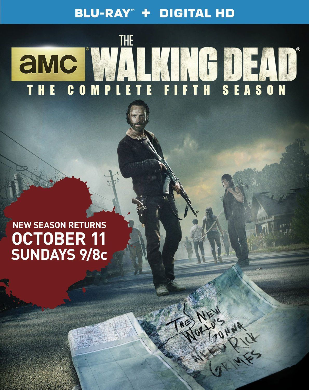 The Walking Dead Season 5 Blu Ray Anchor Bay Region A Release
